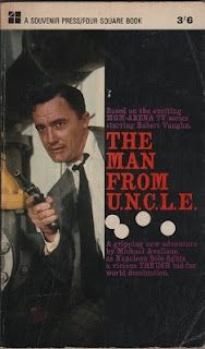 The Man from U.N.C.L.E - I loved collecting these books. They were great! If I recall # 9 'The Vampire Affair' was my favourite. I lent loads to a 'mate' and never got them back.