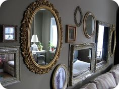 Vintage mirror wall. by felecia