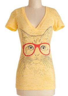 Cute kitty tee http://rstyle.me/n/hk7ghnyg6