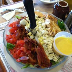Cobb Salad @ Grampa's Bakery & Restaurant in Davia Beach, Florida from Triple D!