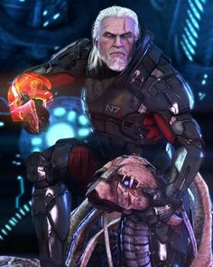 The Witcher x Mass Effect Witcher 3 Art, Witcher 3 Wild Hunt, The Witcher, Mass Effect Art, Comic Books, Anime, Fictional Characters, Crossover, Geek