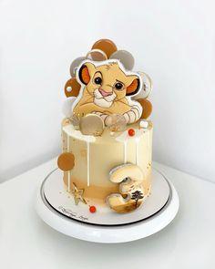 Boys 1st Birthday Cake, Lion King Birthday, Lion Cakes, Lion King Cakes, Lion King Party, Lion King Baby Shower, Cakes For Boys, Baby Shower Cakes, Cake Designs