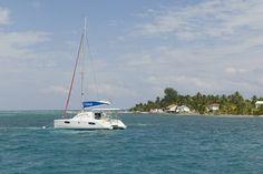 Southwater Caye, Belize. Sunsail 38