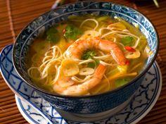 Soupe aux crevettes, facile