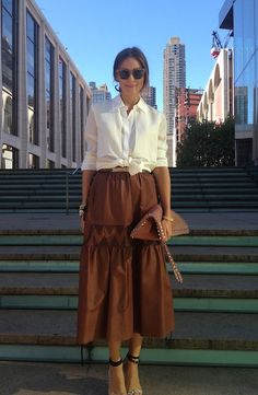 city chic at fashion week