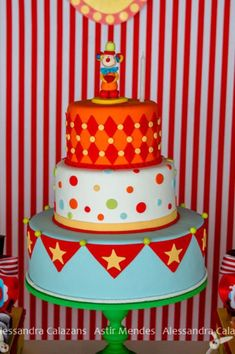 carnival themed wedding cakes Google Search Carnival Party