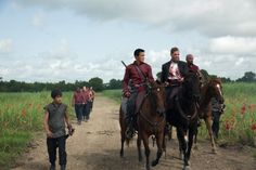 Into the Badlands (TV Series 2015– ) photos, including production stills, premiere photos and other event photos, publicity photos, behind-the-scenes, and more.