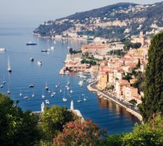 French Riviera The seaside town of Villefranche sur Mer, next to Nice, in the Cote de Azur, France Travel Pics, Travel Pictures, French Trip, Villa France, Uk Summer, Villefranche Sur Mer, French Lifestyle, Italy Tours, Seaside Towns