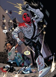 Deadpool meeting his daughter for the first time. - Imgur
