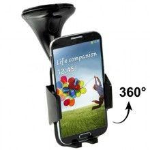 Soporte Auto Smartphone - Ventosa Negro $ 110,00