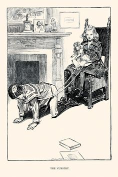 The Nursery, by Charles Dana Gibson