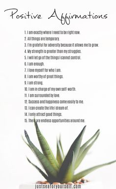 Positive Affirmations For Taking Control Of Your Life 30 Positive Affirmations For Taking Control Of Your Life. see more on 30 Positive Affirmations For Taking Control Of Your Life. Affirmations Positives, Positive Affirmations Quotes, Self Love Affirmations, Affirmation Quotes, Healing Affirmations, Positive Mantras, Law Of Attraction Affirmations, Positive Words Of Affirmation, Miracle Morning Affirmations