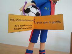 Pide Por Esa Boca. Futbolista del Barça.
