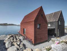 Spillebrettet - Pir2 Wood Architecture, Sustainable Architecture, Residential Architecture, Cabin Design, House Design, Tyni House, Norwegian House, Small Buildings, Modern Barn