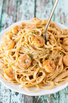Suprise your taste buds with this #creamy Cajun-flavored Shrimp Pasta. #pastafoodrecipes