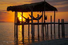 Sunset at Kanawa island by Nathalie Stravers on 500px