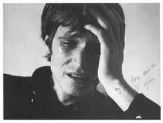 Bas Jan Ader, I´m too sad to tell you, 1970. #vertellen #verdrietig