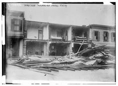 Photo shows buildings damaged by strong winds during the blizzard of March Washington, DC Washington Houses, Washington Dc, Frederick Buechner, Wind Damage, Strong Wind, Library Of Congress, Vintage Photographs, Mother Nature, The Past