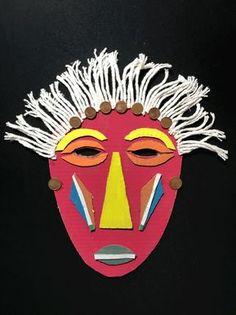 Os dejo 5 sencillas maneras para hacer máscaras de carnaval con vuestros chavales: africanas, con hojas y flores, con platos, con bolsas y emoji.