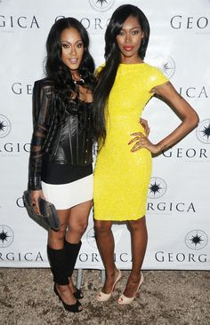 I want this Alice + Olivia dress Jessica White is wearing just because it's named after me: Taryn. :)