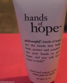 Brand NEW Philosophy Hands Of Hope 30ml/ 1 oz ounce Hand and Cuticle cream #Philosophy