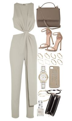 """Untitled #7971"" by nikka-phillips ❤ liked on Polyvore featuring ASOS, Halston Heritage, Givenchy, Stuart Weitzman, Yves Saint Laurent, Burberry, Topshop, Stella & Dot and Marc by Marc Jacobs"