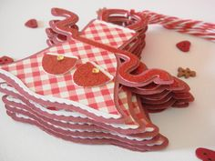 Cricut apron gift tag setcookie exchange by CraftyClippingsbyPeg