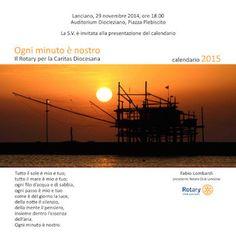 """Lanciano, """"Ogni Minuto è nostro"""": il Calendario Rotary 2015"""