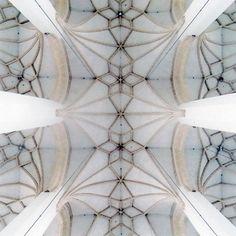 david stephenson | nave, frauenkirche, munich, germany, 1468-94 (from heavenly vaults)