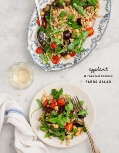 Farro And Kale Salad With White Beans And Slow-Roasted (or Sun-Dried ...