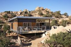 Blue Sky Homes BSH 1000 prototype in Yucca Valley, California. (2 bed, 1 bath, 1000 sq ft, price??)
