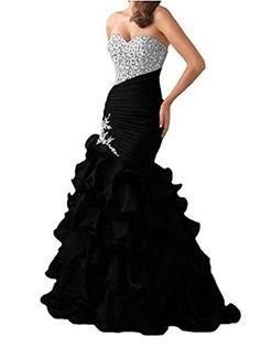 XSWPL Womens Long Prom Dresses Mermaid Dresses Ruffled We... https://www.amazon.com/dp/B01NATTTLV/ref=cm_sw_r_pi_dp_x_C7iFybX3H9GFA