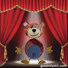 El oso traposo, mascota de Guiainfantil.com cuenta chistes divertidos para niños de: se abre el telón. Chistes tradicionales de se abre el telón, como se llama la película.