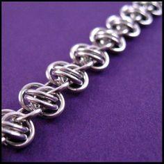 Barrel Weave Basics Chainmail Bracelet