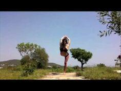 Megan Currie - revolve bird of paradise flow Time Lapse Ibiza, Spain