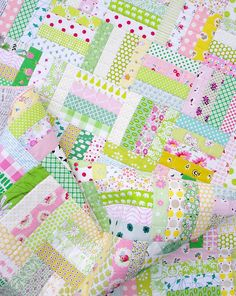 Pink Lemonade ~ A Finished Quilt   Red Pepper Quilts 2015