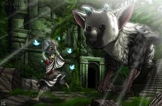 The Last Guardian by Osmar-Shotgun.deviantart.com on @DeviantArt