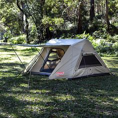 Coleman Tent, Two Person Tent, Instant Tent, Camping Gear, Bushcraft, Touring, Outdoor Gear, Survival, Tents