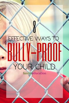 As the new school year kicks off, make sure to talk to your child about how to handle bullies. These 8 tips to bully-proof your child can help.