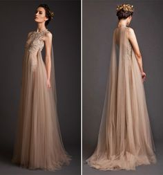 2016 Robe de Soiree Krikor Jabotian Evening Dresses A-Line Appliques And Tulle Prom Dresses Elegant Evening Gowns buttons floor length - Tulle Prom Dress, Prom Dresses, Mermaid Dresses, Bride Dresses, Sexy Dresses, Casual Dresses, Short Dresses, Summer Dresses, Elegant Dresses
