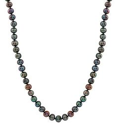 Black Pearl Necklace #zulily #zulilyfinds