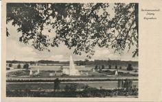 alte AK Reichsmessestadt Leipzig vor 1945, Wagnerhain