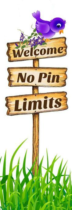 Welcome... No Pin Limits so Enjoy <3 Tam <3