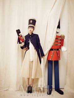 """""""The Nutcracker"""": Won Kyoung Kim in Vogue Korea December 2012"""