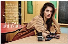 Vogue Espana, Curso Avanzado Jason Kibbler (Photographer)  Brian Molloy (Fashion Editor/Stylist)
