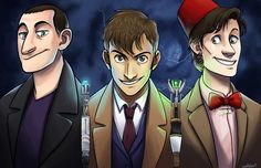 Doctors Three by wallabri.deviantart.com on @deviantART