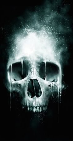 ☆ Skull Spatter :¦: By Artist Paul Han ☆