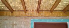 Forro de bambu para pergolado, pergola, teto, cobertura e forração.