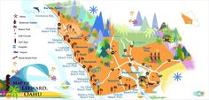 Discover Each Region of Oahu with Oahu Maps from Seek Spot by Be Our Guest, providing maps for Oahu Activities, Dining, Sight Seeking, Hiking and more.