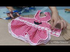 Molde básico de vestidinho pet - YouTube